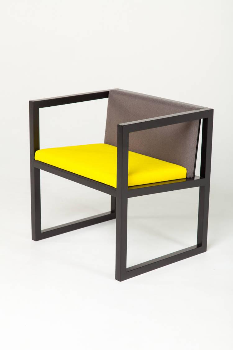 gelber-stuhl-design